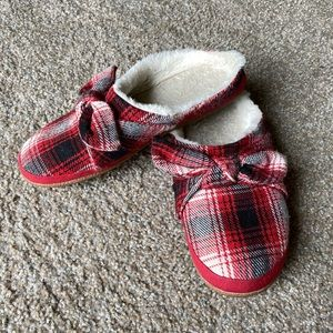 🔥3/$20🔥 TOMS Ivy Clog Slipper Size 9 Plaid